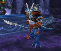 Image of Blue Drakonid Supplicant
