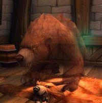 Image of Angry Bear Rug Spirit