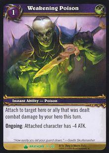 Weakening Poison TCG Card.jpg