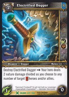 Electrified Dagger TCG Card.jpg