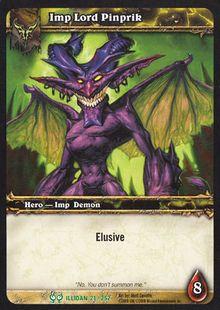 Imp Lord Pinprik TCG Card.jpg
