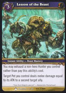 Lesson of the Beast TCG Card.jpg