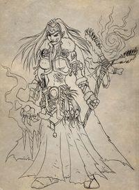 Image of Death Queen Angerboda