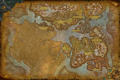 Tiragarde Sound map