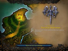 The Fall of Silvermoon (WC3 Undead)