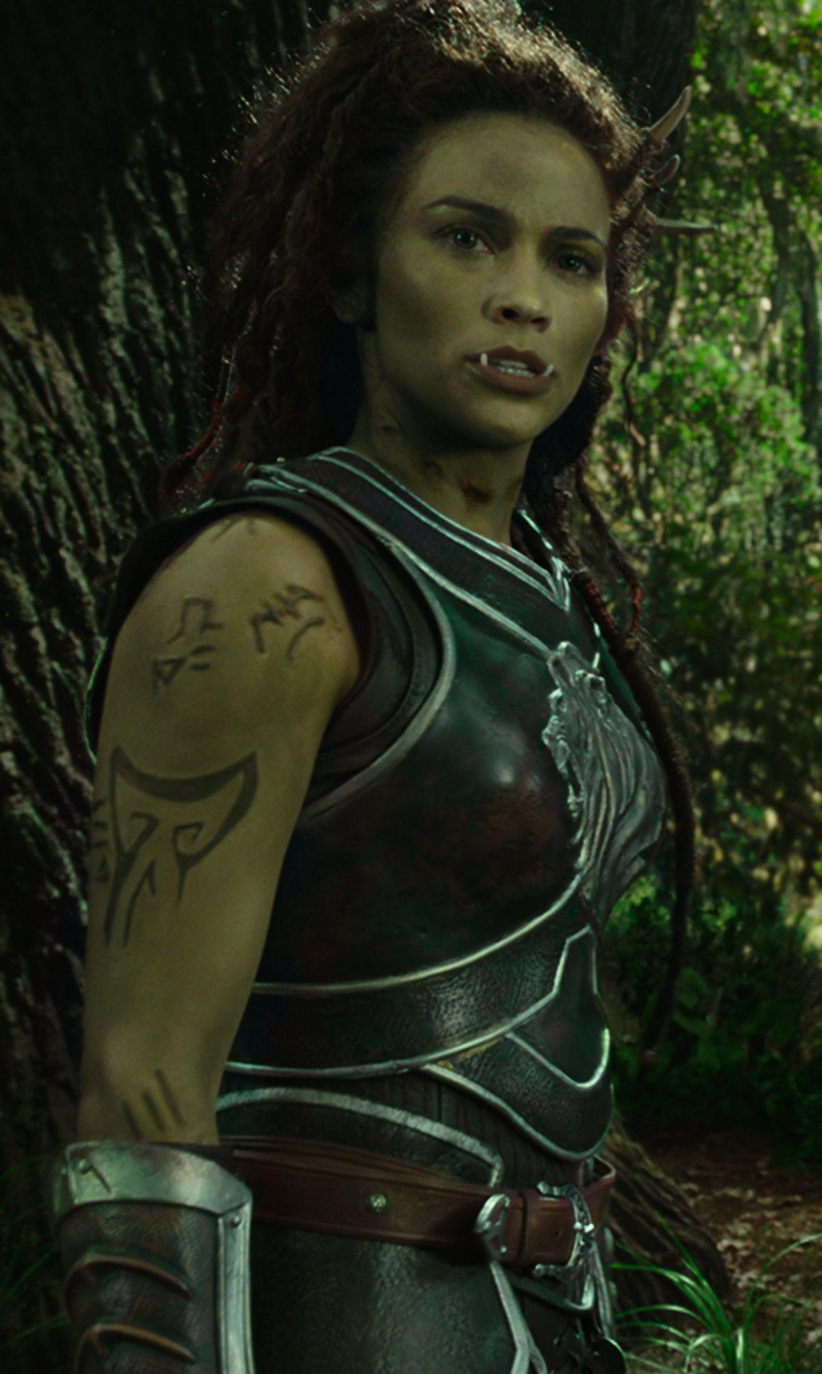 Garona Halforcen Film Universe Wowpedia Your Wiki Guide To The World Of Warcraft