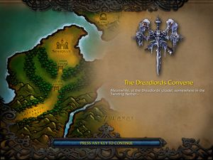 The Dreadlords Convene Wc3 Undead Wowpedia Your Wiki Guide