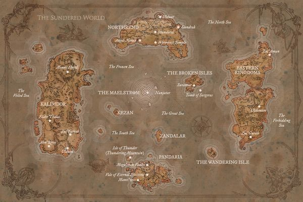 Map Of Azeroth Maps   Wowpedia   Your wiki guide to the World of Warcraft