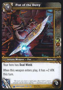 Fist of the Deity TCG Card.jpg