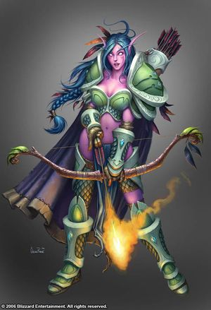 Night elf - Wowpedia - Your wiki guide to the World of Warcraft