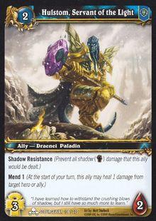Hulstom, Servant of the Light TCG Card.jpg