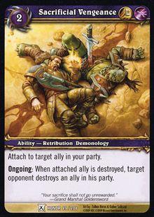 Sacrificial Vengeance TCG Card.jpg