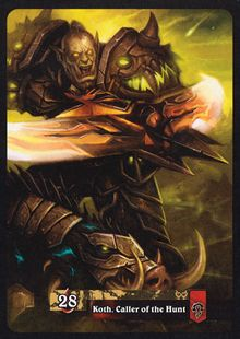 Koth, Caller of the Hunt TCG Card Back.jpg