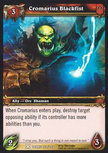 Cromarius Blackfist TCG Card.jpg