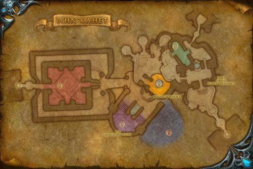 Ahn'kahet map