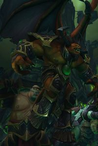 Image of Doomlord Kazrok