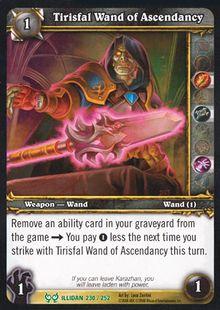 Tirisfal Wand of Ascendancy TCG Card.jpg