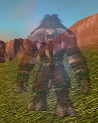 Image of Cheerful Tauren Spirit