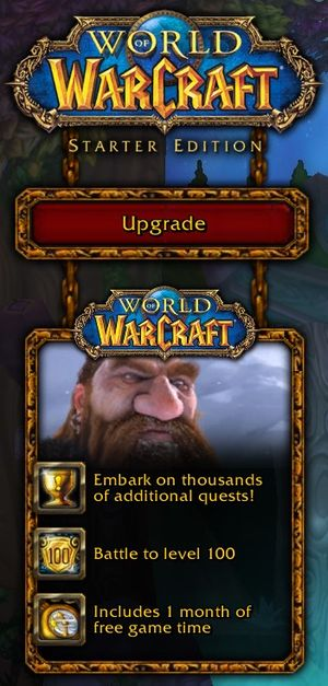World of Warcraft Starter Edition - Wowpedia - Your wiki