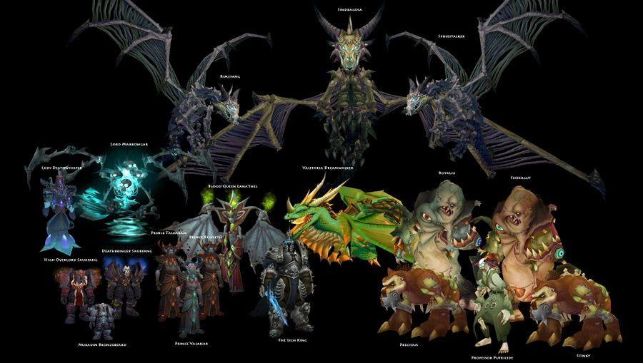 Icecrown Citadel bosses.jpg