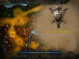 The Cult of the Damned (WC3 Human)