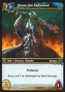 Zorus the Judicator TCG Card.jpg