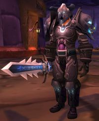 Image of Dark Touched Warrior
