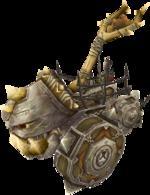 A forsaken catapult