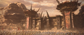 Battle at the Gates of Orgrimmar