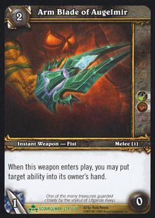 Arm Blade of Augelmir TCG Card.jpg