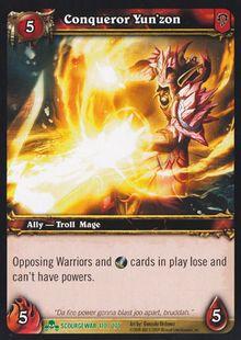 Conqueror Yun'zon TCG Card.jpg