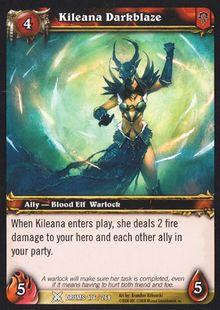 Kileana Darkblaze TCG Card.jpg
