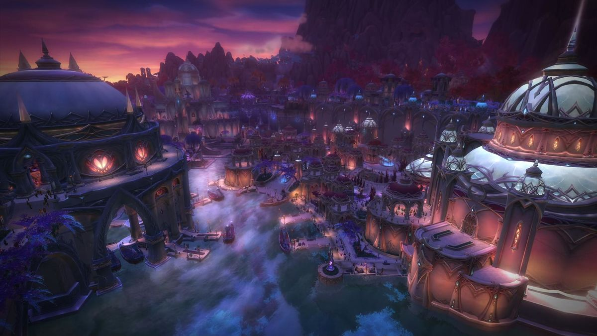 1200px Suramar Cinematic - Warcraft's cities and their real world equivalents