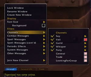Chat - Wowpedia - Your wiki guide to the World of Warcraft