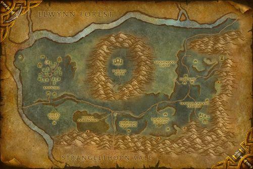 Duskwood map