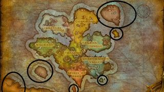 Draenor (alternate universe) - Wowpedia - Your wiki guide to ... on duskwood map, wow kalimdor map, frostfire ridge map, world of warcraft world map, wow zeppelin map, ghostlands map, dalaran map, khaz modan map, silver moon city world map, tanaan jungle map, warcraft zone map,