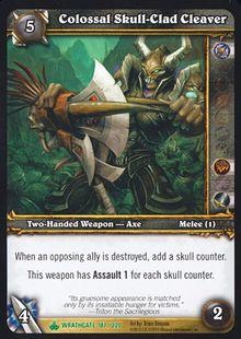 Colossal Skull-Clad Cleaver TCG Card.jpg