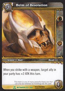 Helm of Desolation TCG Card.jpg