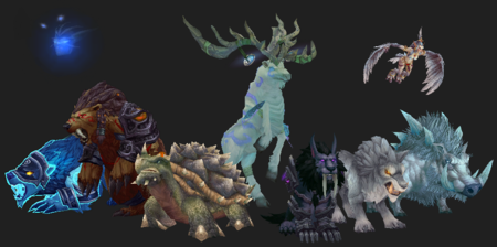 Various Ancient Guardians