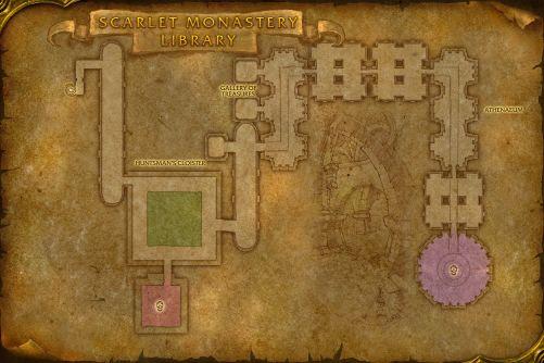 ScarletMonastery1 map