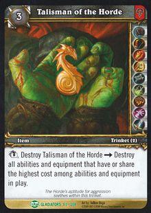 Talisman of the Horde TCG Card.jpg
