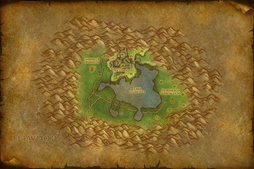 Dun Morogh Map on