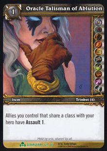 Oracle Talisman of Ablution TCG Card.jpg