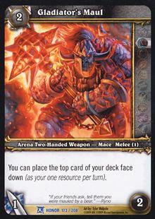 Gladiator's Maul TCG Card.jpg