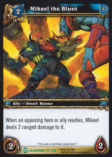 Mikael the Blunt TCG Card.jpg