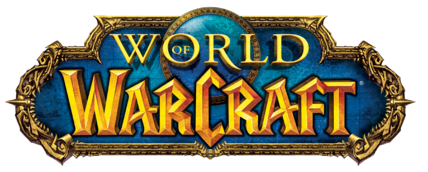 The new World of Warcraft logo introduced with classic