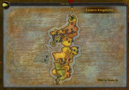 Eastern Kingdoms - Wowpedia - Your wiki guide to the World of Warcraft