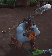Image of Armed Villager
