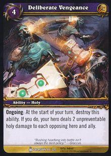 Deliberate Vengeance TCG Card.jpg