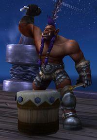 Image of War Drummer